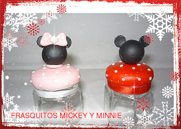FRASQUITOS MICKEY Y MINNIE