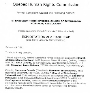 Quebec Human Rights Commision / Exploitation of Handicap