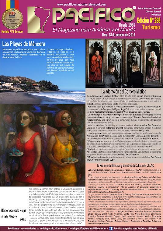 Revista Pacifico Nº 298 Turismo