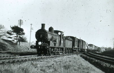 30316 on heavy freight at Fareham