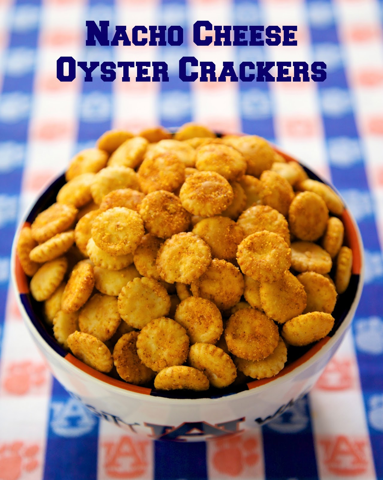 Nacho Cheese Oyster Crackers - Doritos Cracker Bites