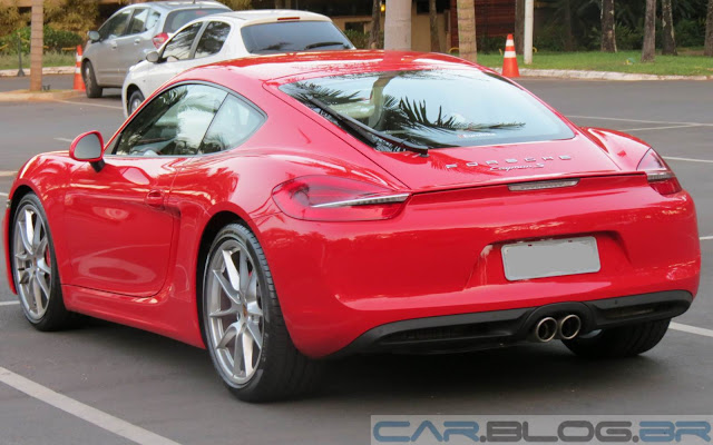 2014 Porsche Cayman S - red