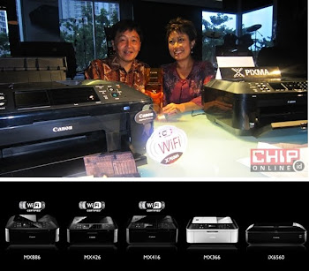Lima Office Printer PIXMA Terbaru Adari Canon