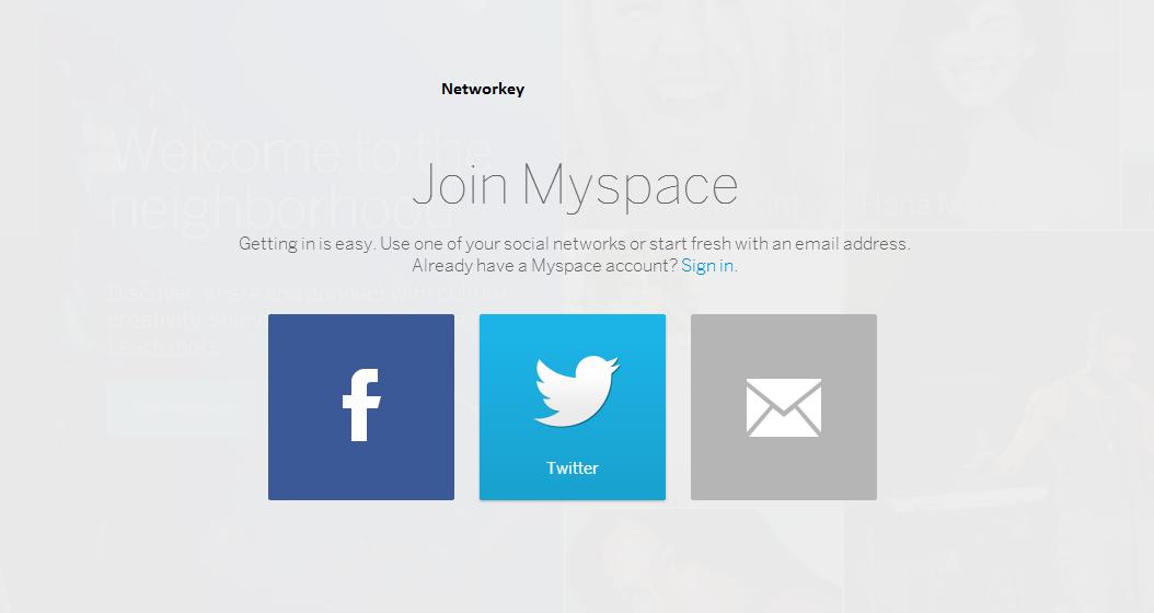 Account Myspace
