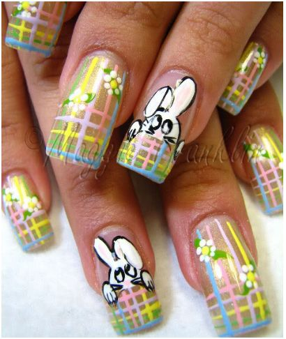 Lifestyle for blondes easter nail art springtime and easter offer so many fun nail art design ideas to create a beautiful manicure or pedicure for yourself solutioingenieria Images