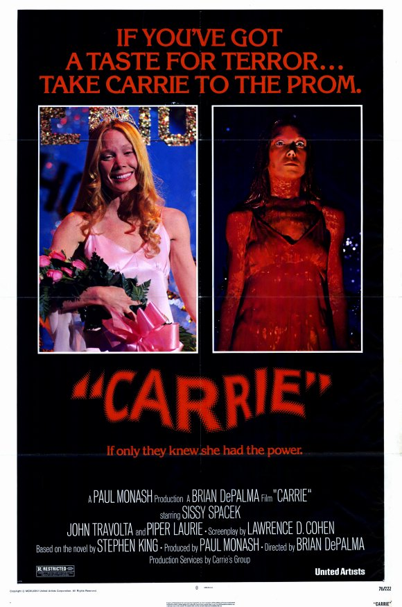 Every 70s Movie Carrie 1976