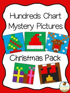 Christmas Hundreds Chart