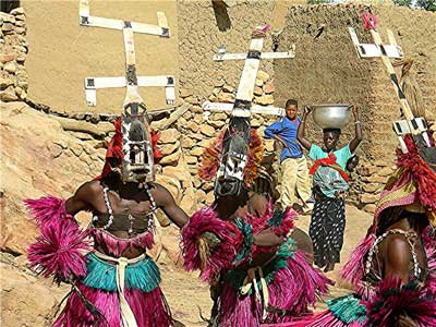 World Renowned Dogon Expert Proves Celestial Beings Meddled in Our Past Dogon-Dancers7