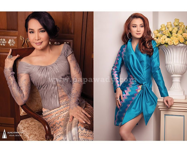 Generations of Beauty - Wutt Mhone Shwe Yi & Moet Moet Myint Aung