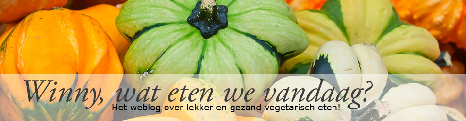Winny, wat eten we vandaag?
