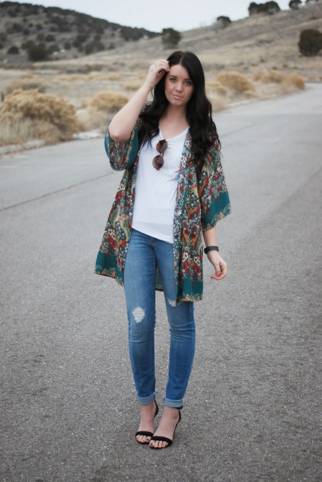 Kimono Style Featuring Styles For Less The Red Closet Diary