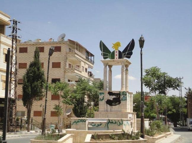 vliegen over syrie