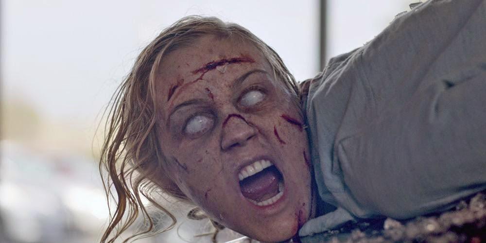 Talia possessed by a demon in NBC Constantine Season 1 Pilot Episode Non Est Aslyum