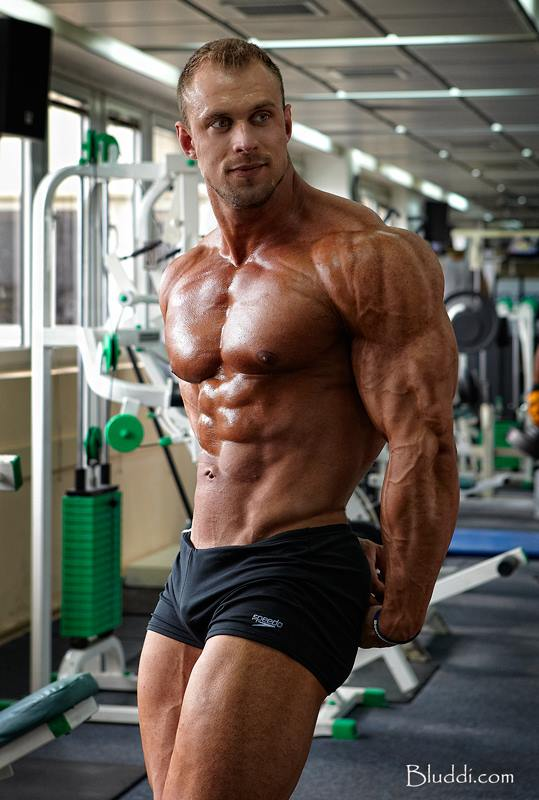 Blonde muscle workout - 1 part 7