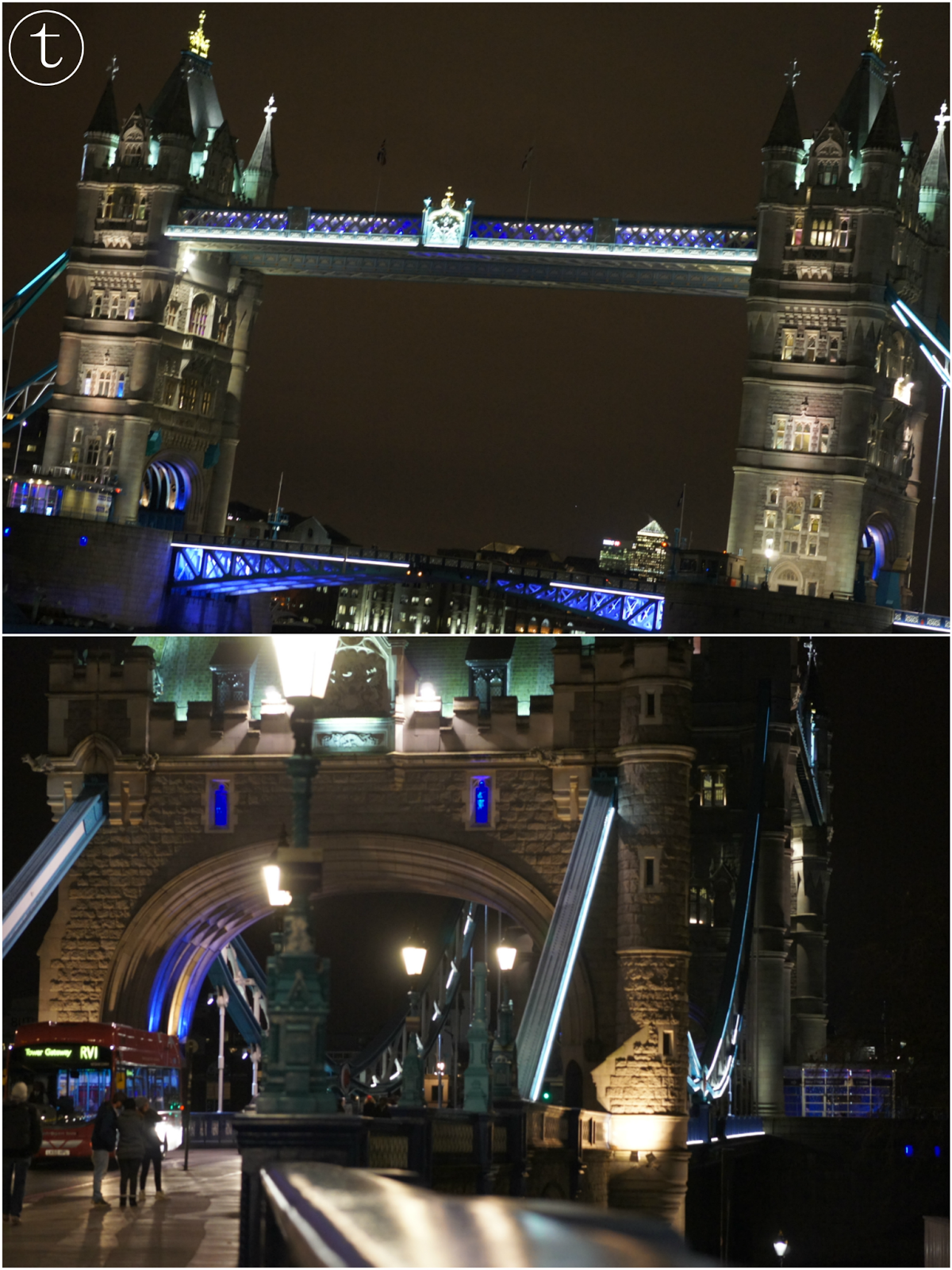 tower bridge by night london