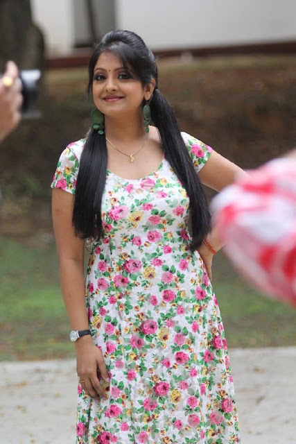 Pramodini Stills At Chembu China Satyam First Look Launch