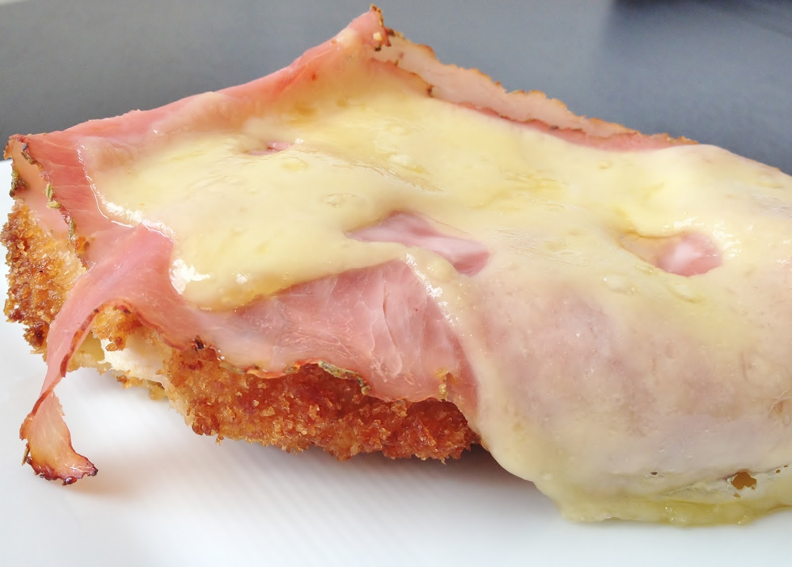 Craves and $aves: Open Face Chicken Cordon Bleu