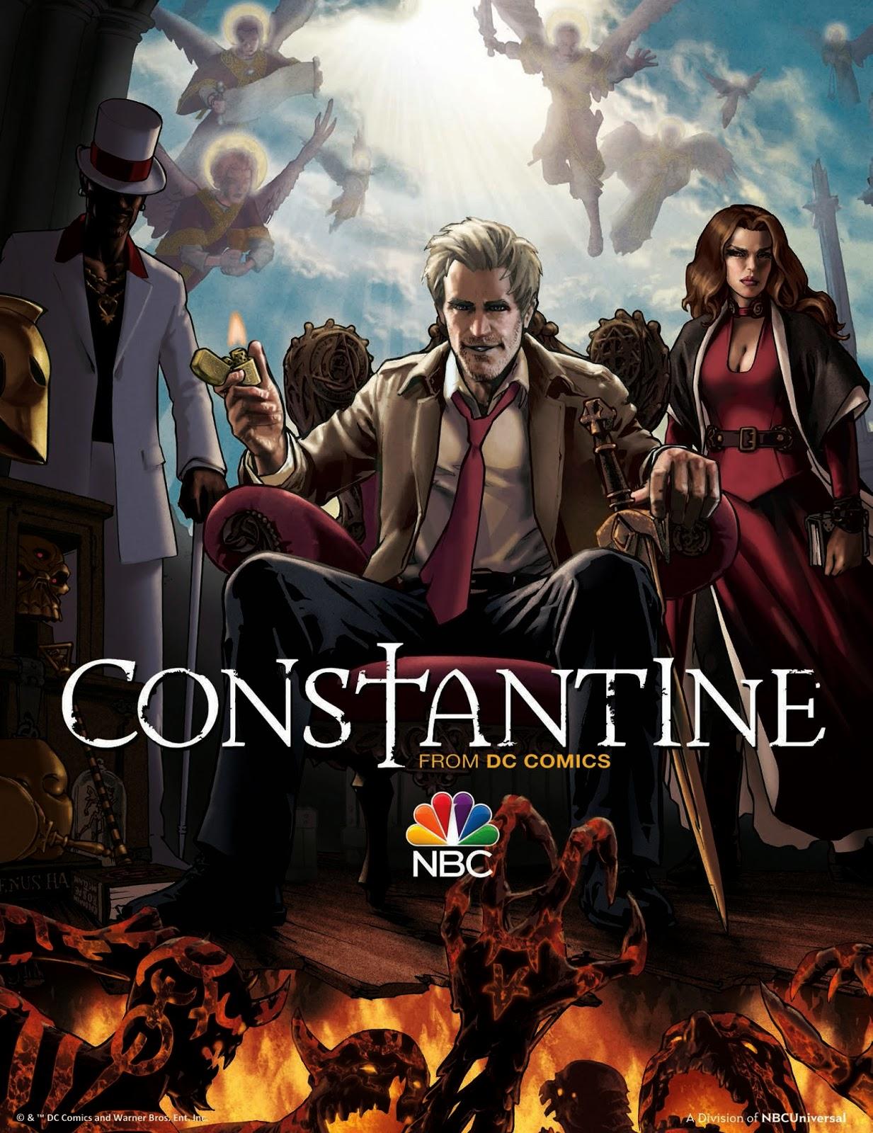 Constantine - New Poster
