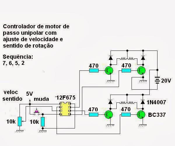 Xprojetos 2014 neste circuito o microcontrolador agora um pic12f675 que possui conversor analgico digital o programa ento foi modificado para ler a posio do ccuart Choice Image