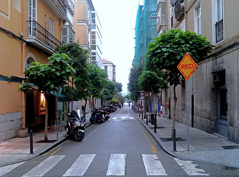 Calle de las Infantas en Santander
