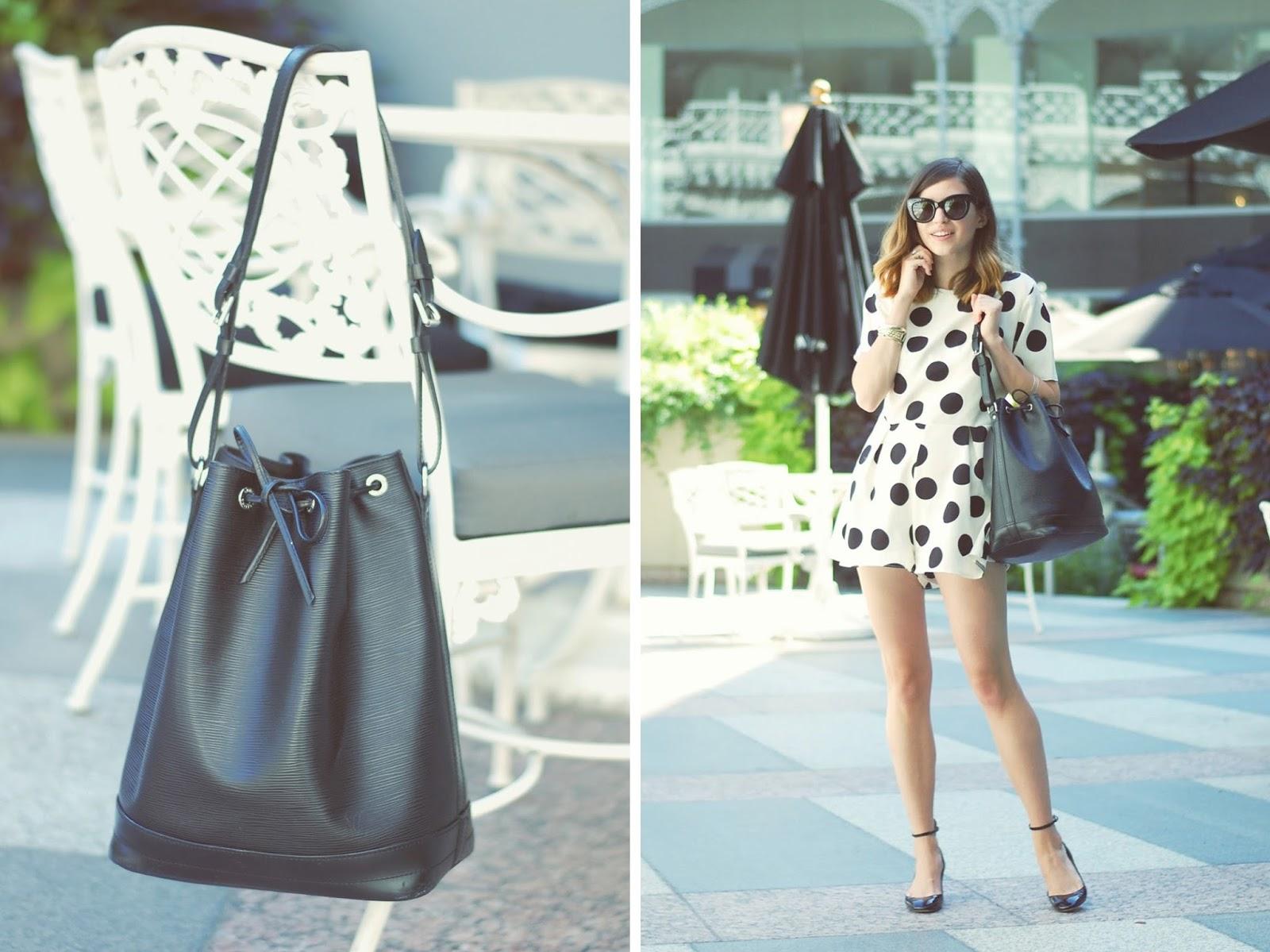 how to style a louis vuitton no u00e9 bucket bag