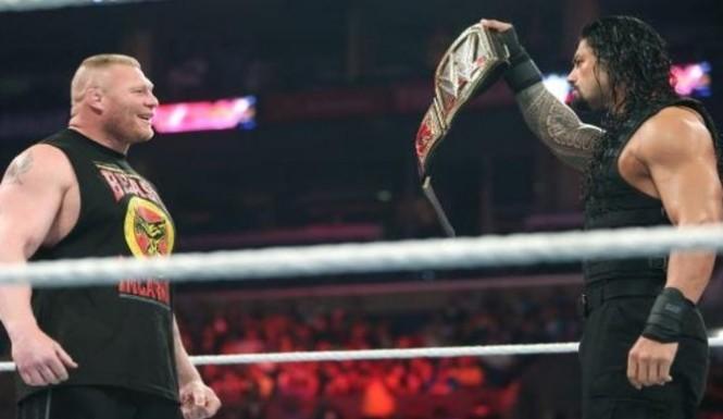 Brock Lesnar Vs. Roman Reigns