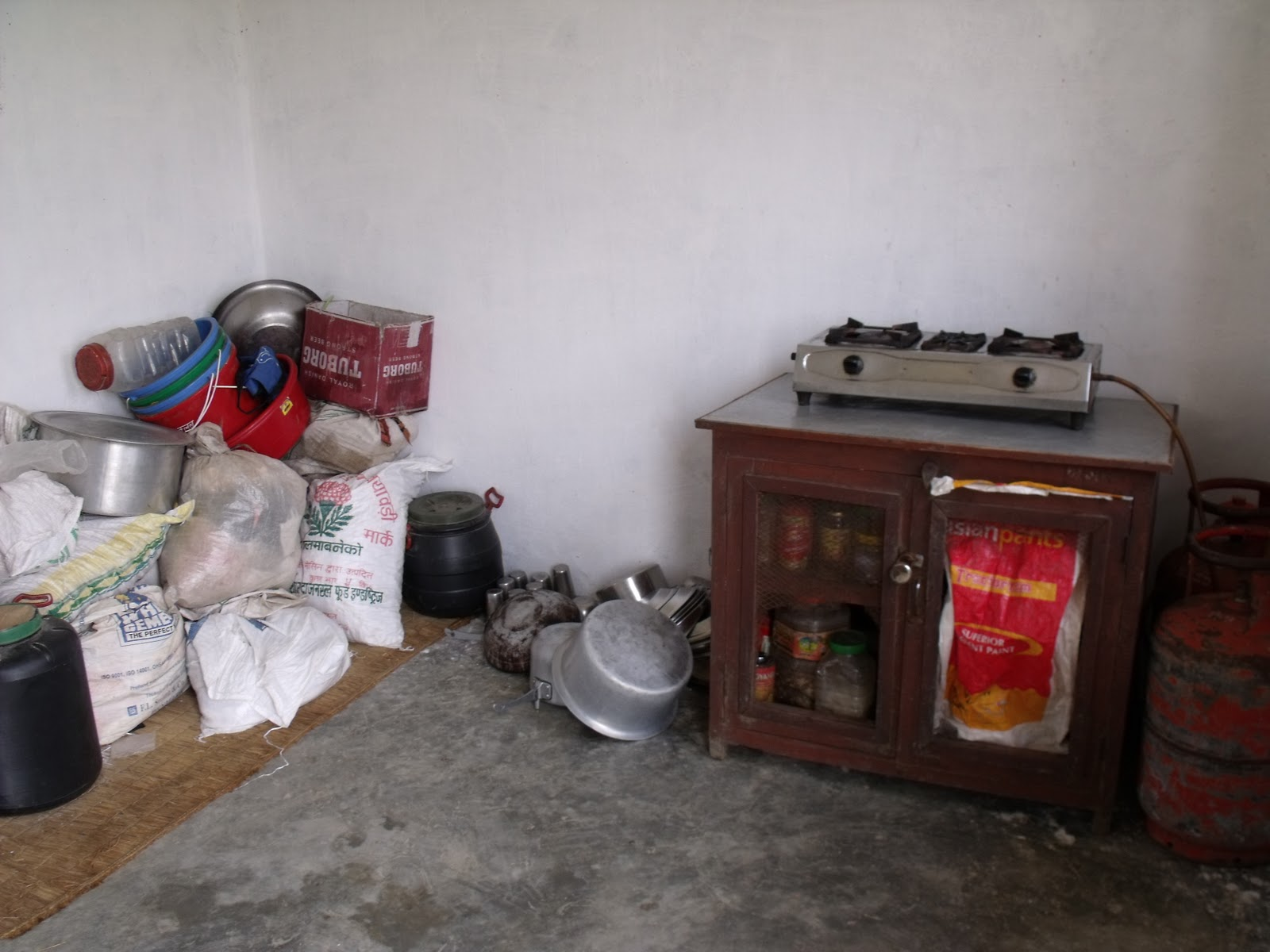Namaste nepal orphanage visit for Kitchen equipment in nepal