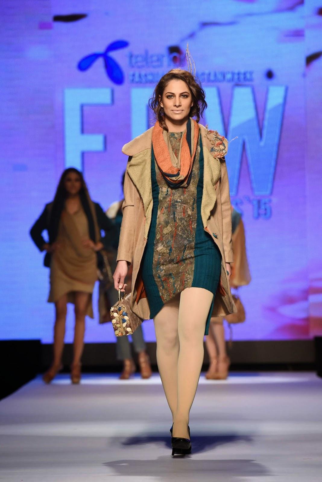 Momal Zia Telenor Fashion Pakistan Week 2015 Day 1