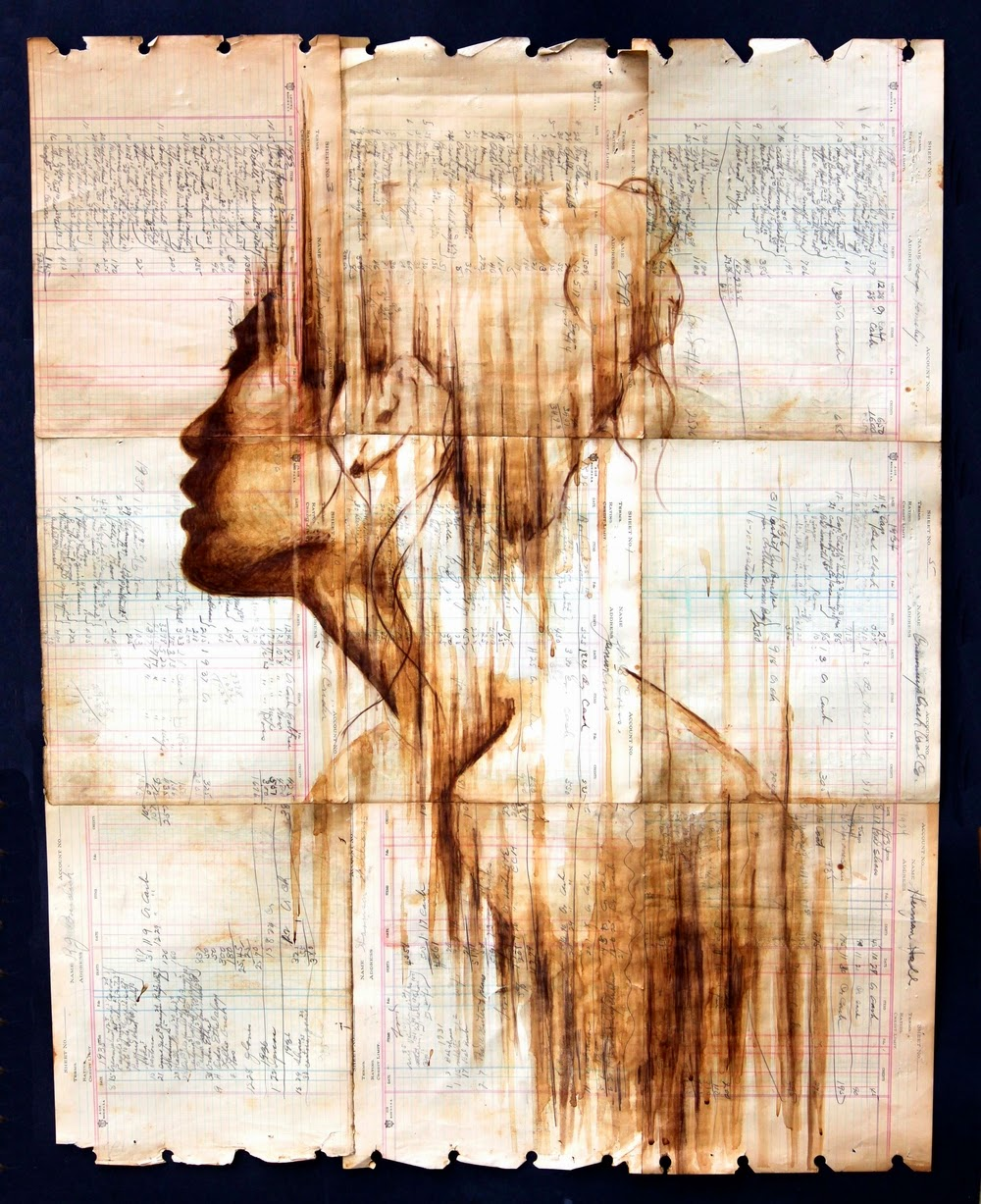 08-Ink-and-Coffee-Portrait-Paintings-Michael-Aaron-Williams-www-designstack-co