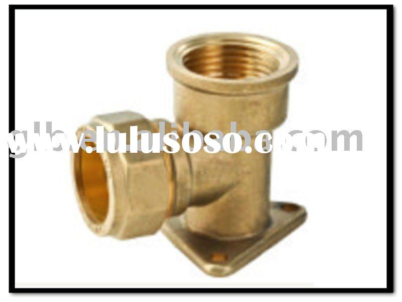 Compression fitting fittings for copper pipe
