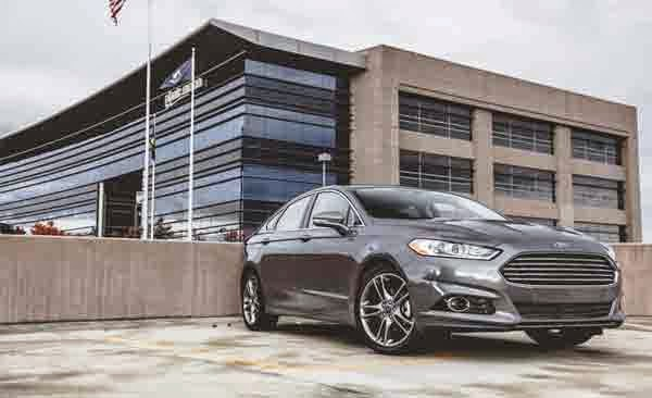 2015 Ford Fusion Titanium Hybrid Review Concept