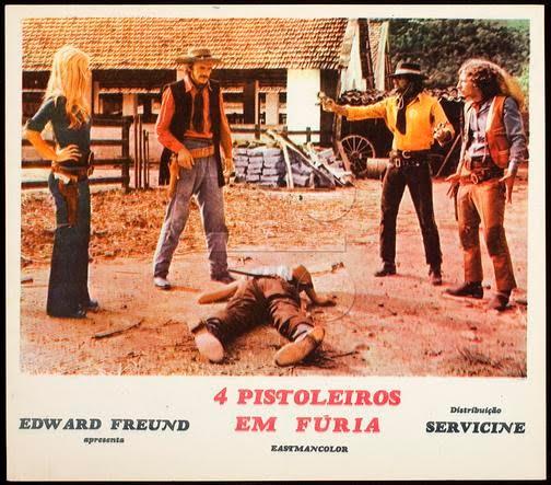 Resultado de imagem para 4 pistoleiros em fúria