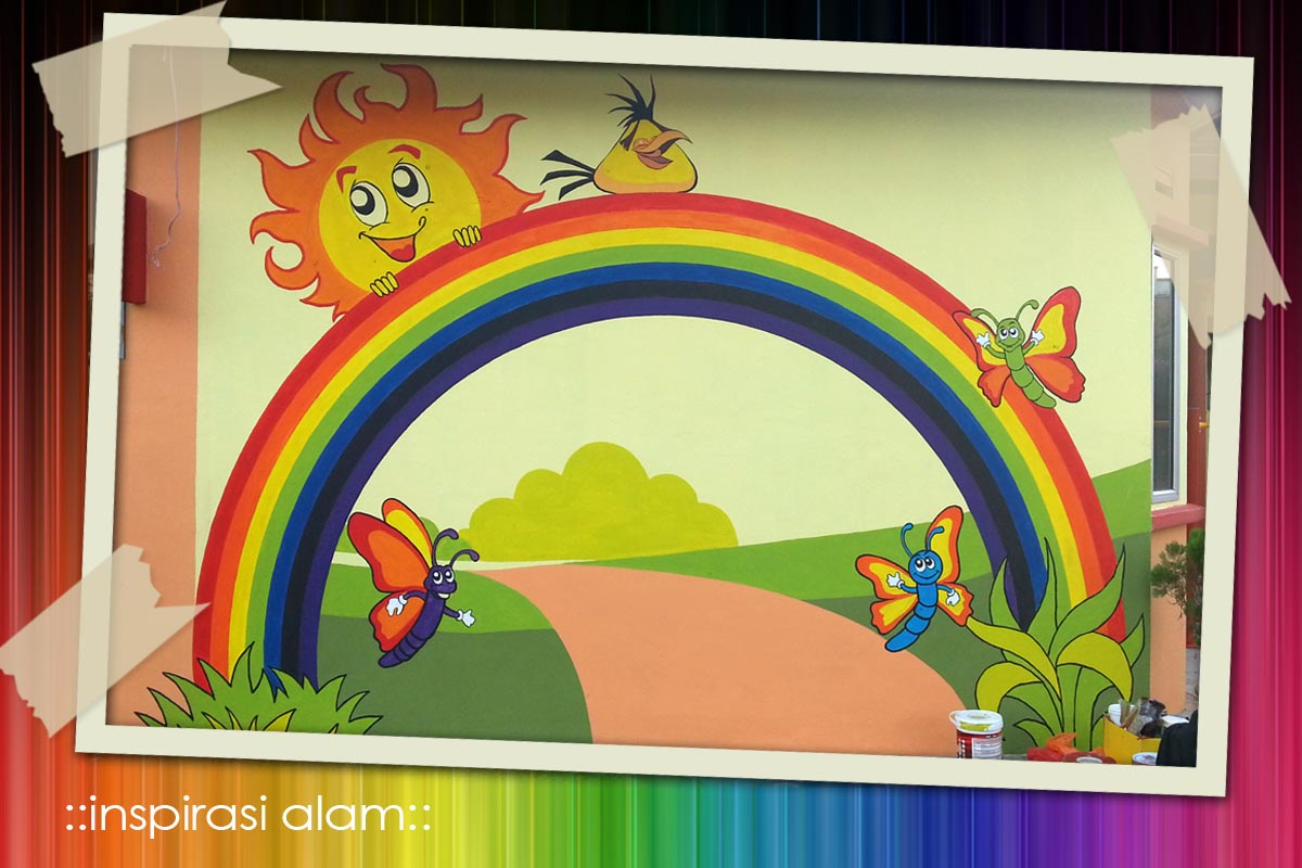 Inspirasi alam projek mural tabika perpaduan siri 3 for Mural tadika