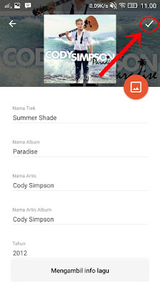 Cara Mengetahui Judul Lagu Yang Tidak Kita Ketahui menggunakan Musicmatch Android