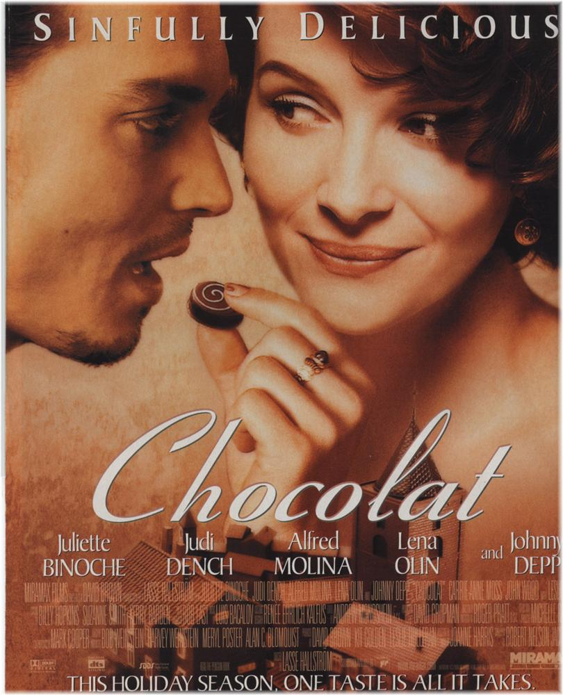 chocolat essay film Access to over 100,000 complete essays and and violence in order to create a good film chocolat is a classic example of how rebellious acts should be done and.