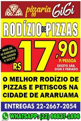 Pizzaria GiGi em Araruama