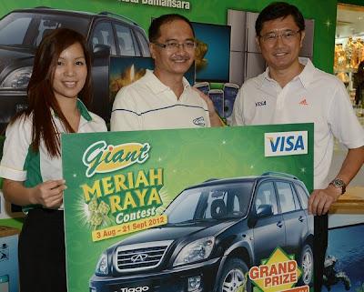 Menang SUV Bernilai RM80,000 dan iPhone 5