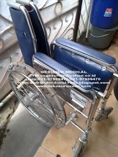kursi roda bekas longmax