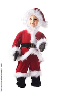 Little Santa Toddler / Child Costume