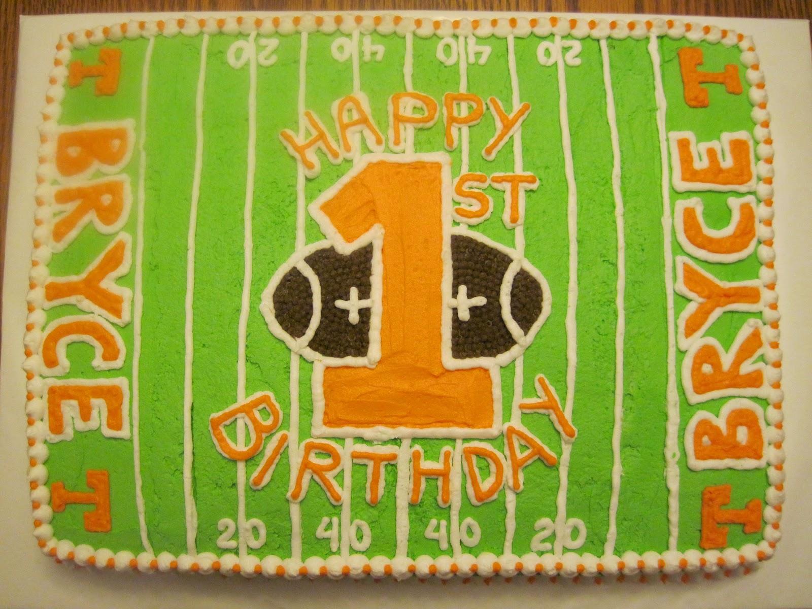 Erins Custom Cakes Tennessee Vols First Birthday