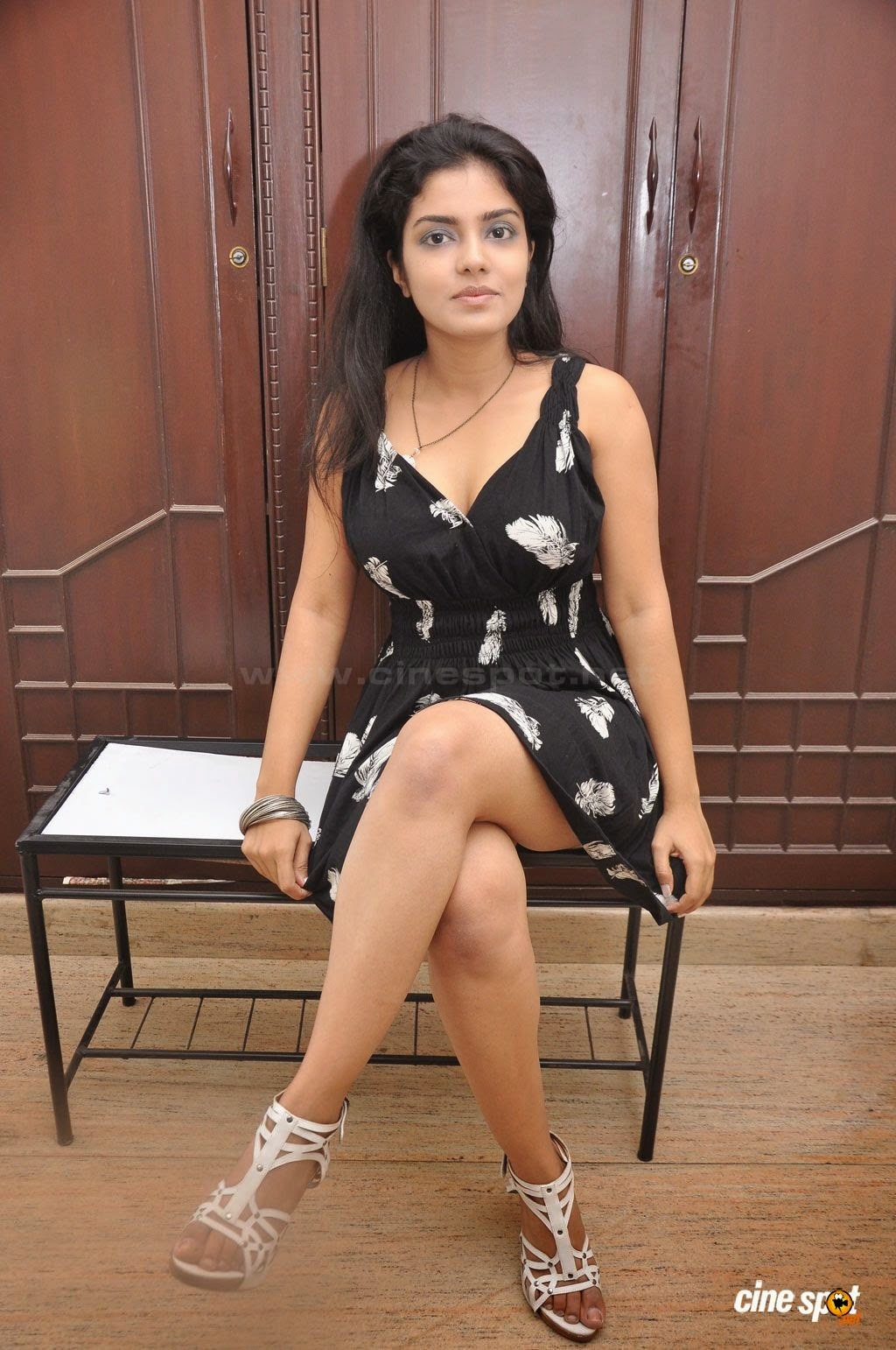 Janavi crossed legs