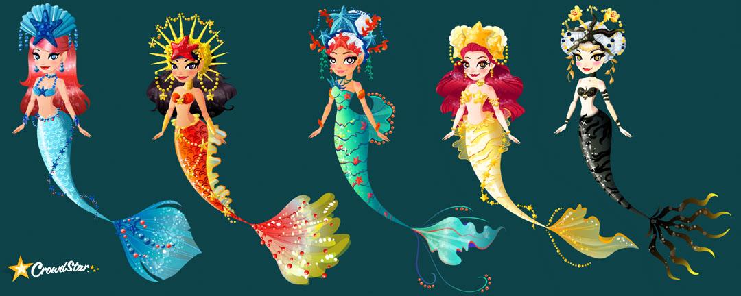 The Art Of Liana Hee Starfish Mermies