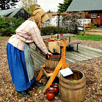 Old Sturbridge Village_New ENgland Fall Events_Apple Days_Cider press