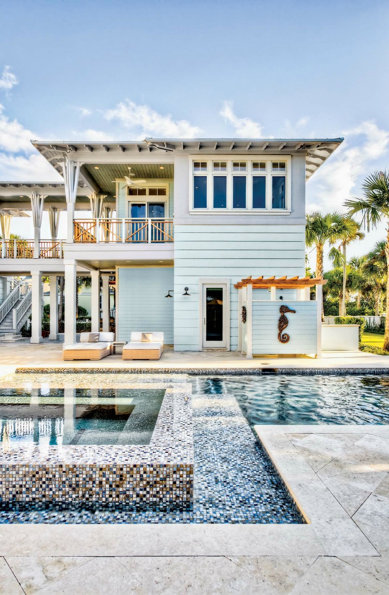 Coastal home inspirations on the horizon vacation homes Beach cottage house