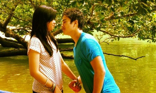 Marco Gumabao and Miles Ocampo's First Kiss on 'LUV U' this November 4