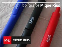 Bolígrafos MiquelRius