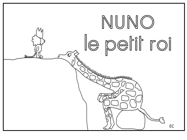 Vis Ma Vie De Maitresse Elodie Coloriage Nuno Le Petit Roi Et Galette Des Rois Un Coloriage Code Des Jours De La Semaine