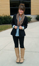 Business Casual Outfits with Black Boots