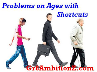 aptitude questions on ages with solutions