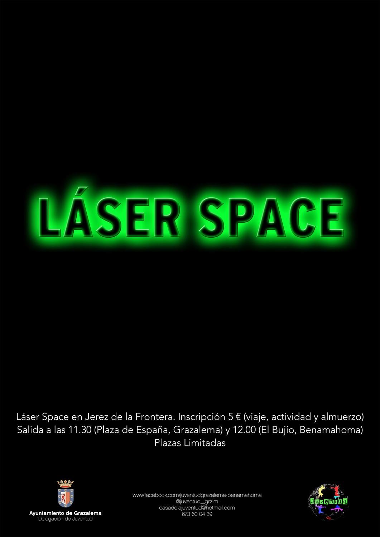 Laser Space para jóvenes
